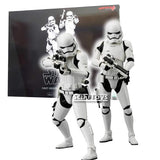 1:10 Star Wars : The Force Awakens - First Order Stormtrooper 2 Pack Statues ARTFX+ Kotobukiya