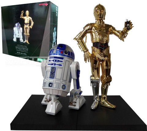 1:10 Star Wars : A New Hope - C-3PO and R2-D2 2 Pack Statue ARTFX+ Kotobukiya