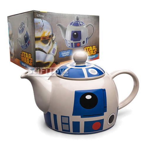 Star Wars - Official Licensed R2-D2 Astromech Droid Ceramic Teapot