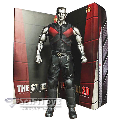 1:6 X-Men Deadpool - The Steel Version 2.0 A.K.A Colossus Figure Toys Era (LAST CHANCE)