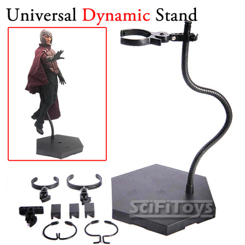 1:6 1:12 UNIVERSAL POSEABLE dynamic Action Figure / Doll Display Stand
