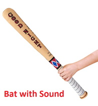 (CLEARANCE) 1:1 Suicide Squad - Harley Quinn SWAT Good Night Bat with Sound