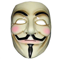 (CLEARANCE) V For Vendetta - Licensed Vendetta Party Cosplay Mask Rubies