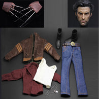 1:6 scale WOLVERINE Custom Set (Outfit and Headscuplt only)