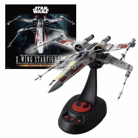 1:48 Star Wars - X WING Star Fighter Moving Edition Model Kit Bandai