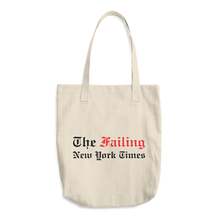 The Failing New York Times Bull Denim Tote