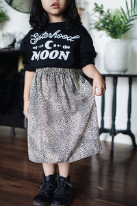 Speckled Maxi/ Midi Skirt (2 Colors)
