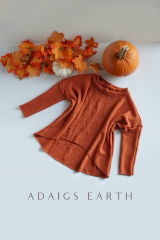 Autumn Pullover Sweater Top (4T, 3T, 18-24, 12-18)
