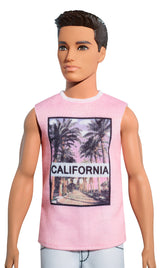 Mattel  Barbie Fashionistas Cali Cool Ken Doll