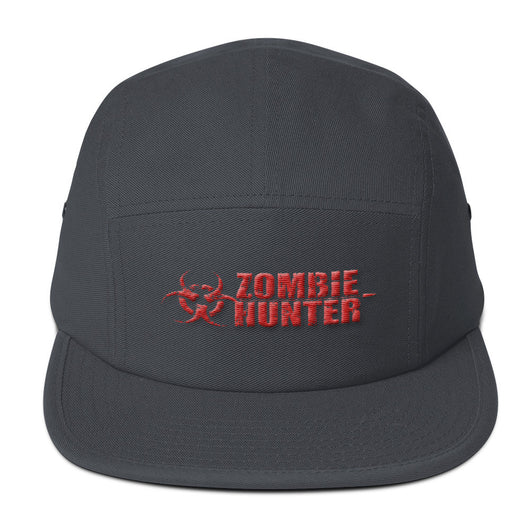 Zombie Hunter Red Embroidered Camper Hat