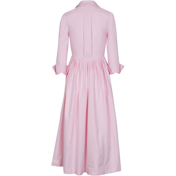 Long Sleeve Placket Front Shirtdress