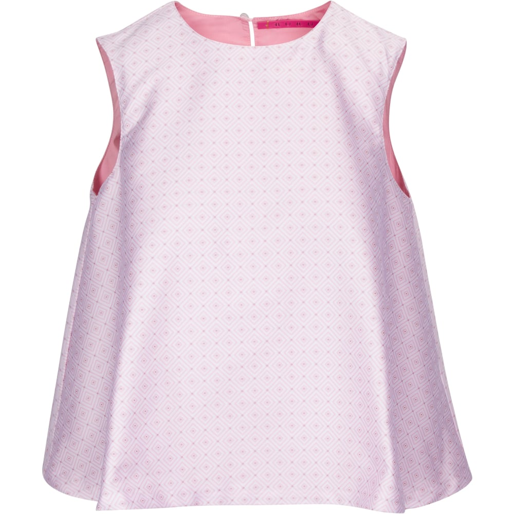 The SIL - Buru - Pink Sleeveless Swing Top