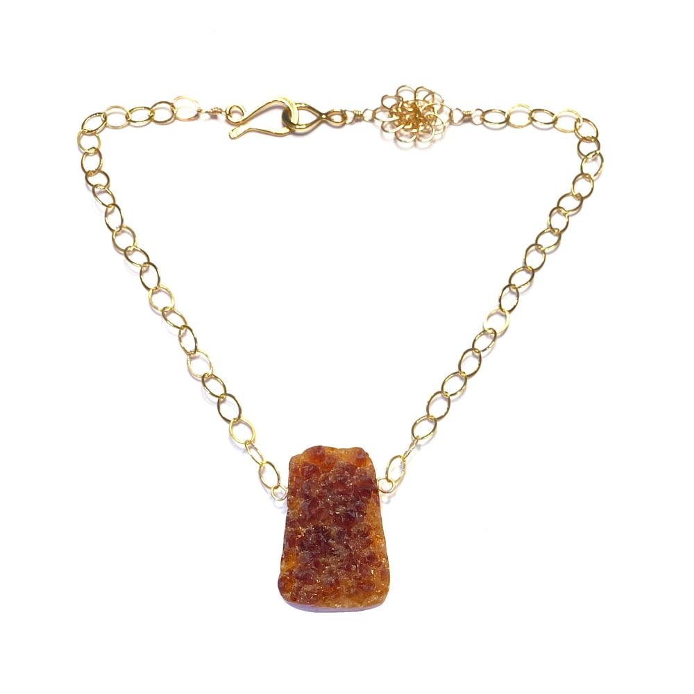The SIL - Cassandra King Polidori - Citrine Necklace