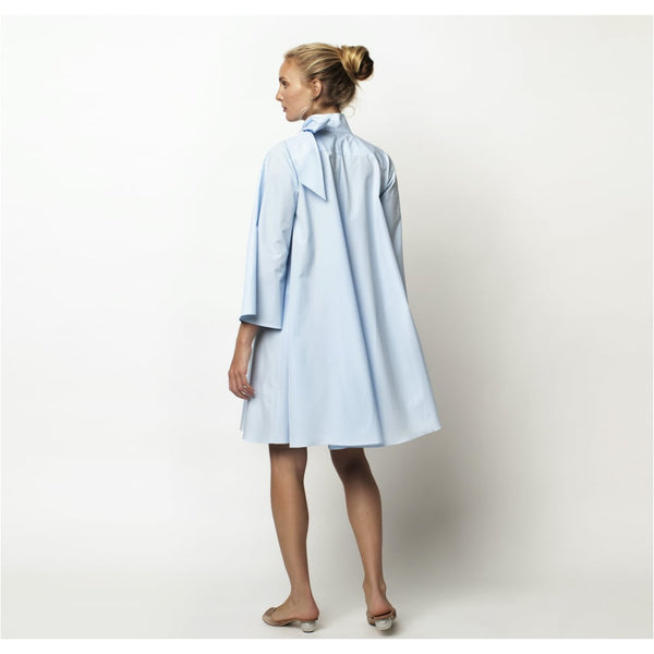 Powder Blue Capri Bow Dress