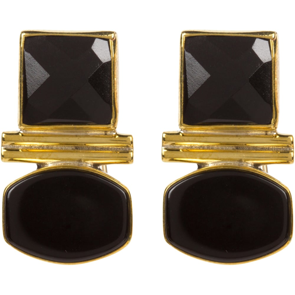 The SIL - Jan McLaughlin - Onyx Earrings