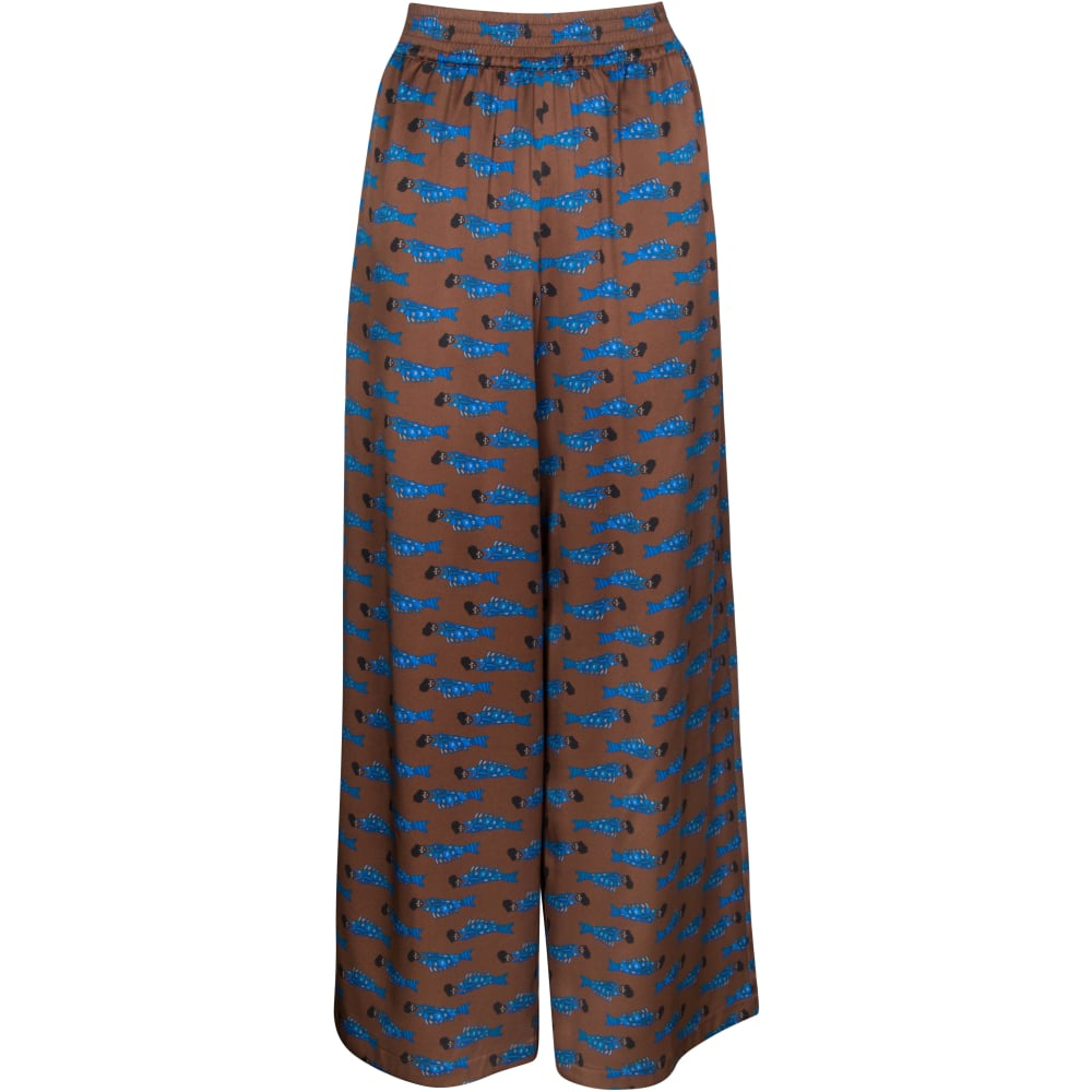 Archive Wide Leg Pants