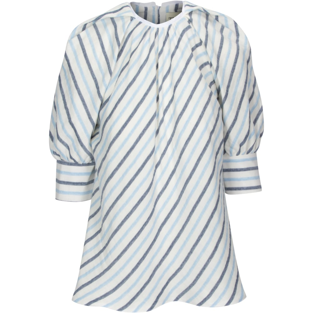 The SIL - Tish Cox - Blue Stripe Tammy Top