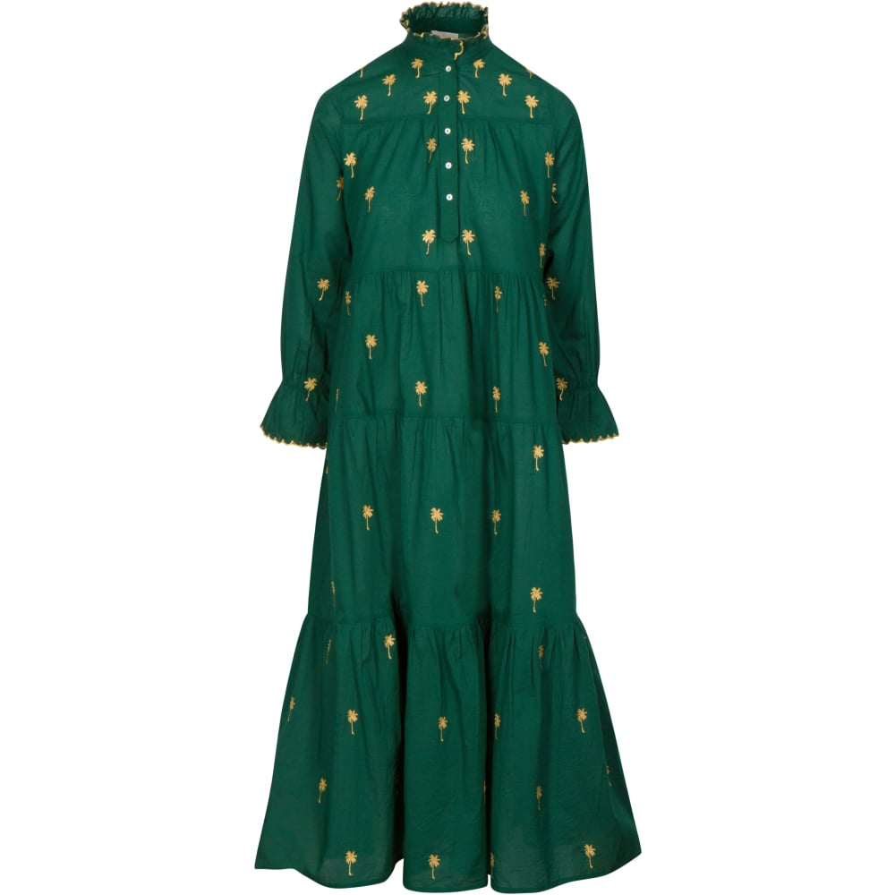 The SIL - Zindagi - Hunter Green Neha Dress