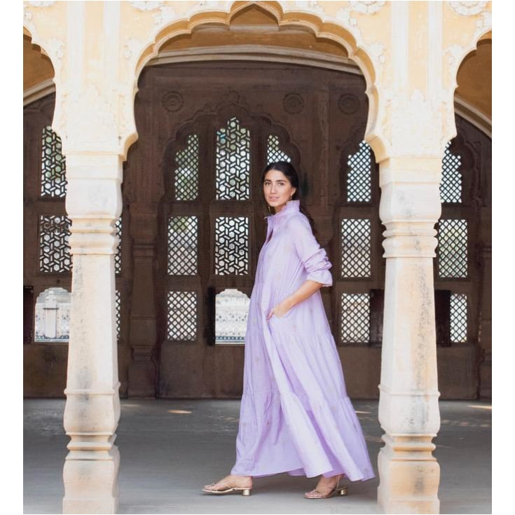 The SIL - Zindagi - Lilac Zindagi Dress - Pre-Order
