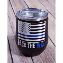 Back the Blue Tumbler