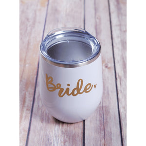 Bride Wine Tumbler {Multiple Colors}