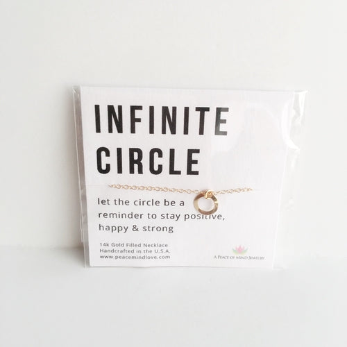 Infinite Circle - Handmade 14k Gold Filled