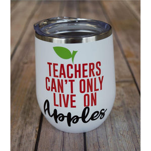 Teachers Apple Wine Tumbler