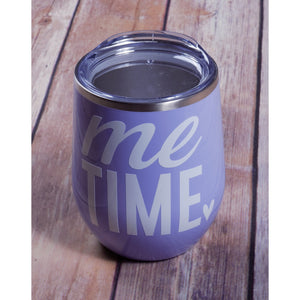 Me Time Wine Tumbler {Multiple Colors}