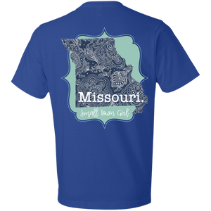 Missouri Paisley Small Town Girl T-Shirt