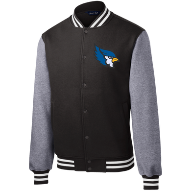 High Point Sport-Tek Fleece Letterman Jacket