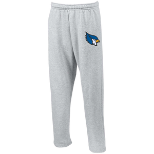 High Point Open Bottom Sweatpants with Pockets