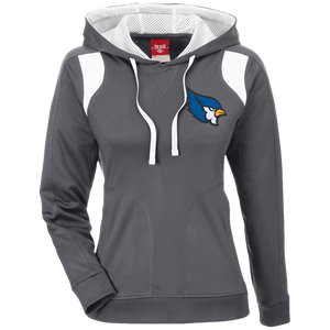 High Point Ladies' Colorblock Poly Hoodie