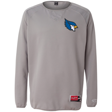 High Point Rawlings® Flatback Mesh Fleece Pullover
