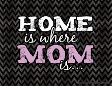 Home is where MOM is... Downloadable Print (8.5 x 11 in)