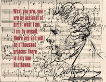 Beethoven Downloadable Print (8.5 x 11 in)