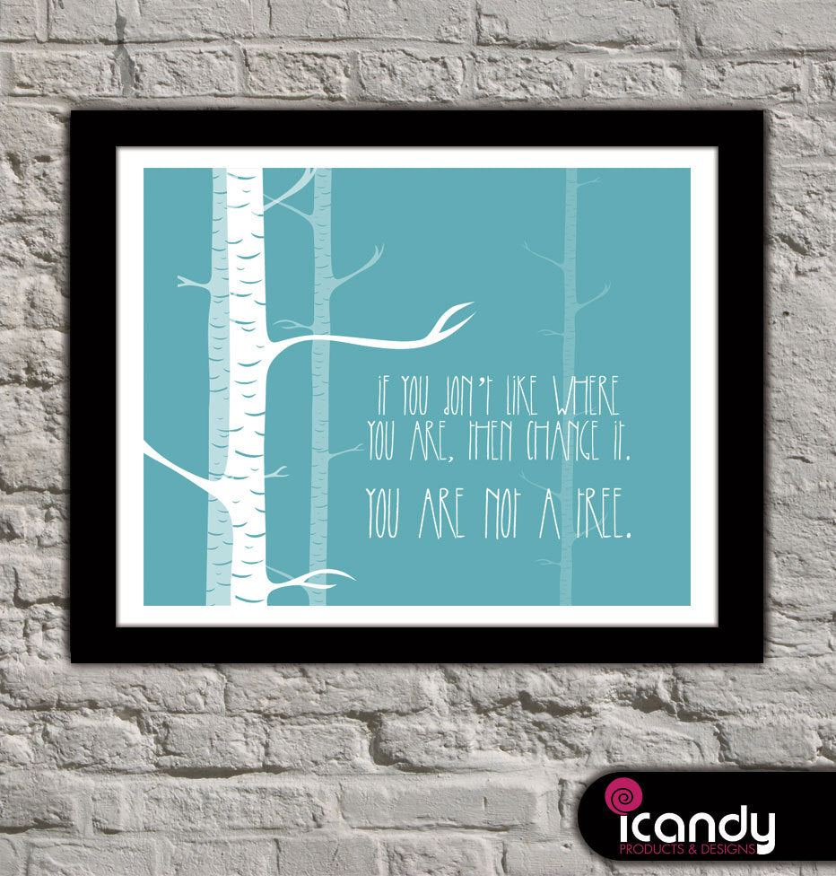 Not a Tree Downloadable Print (8x10 in)