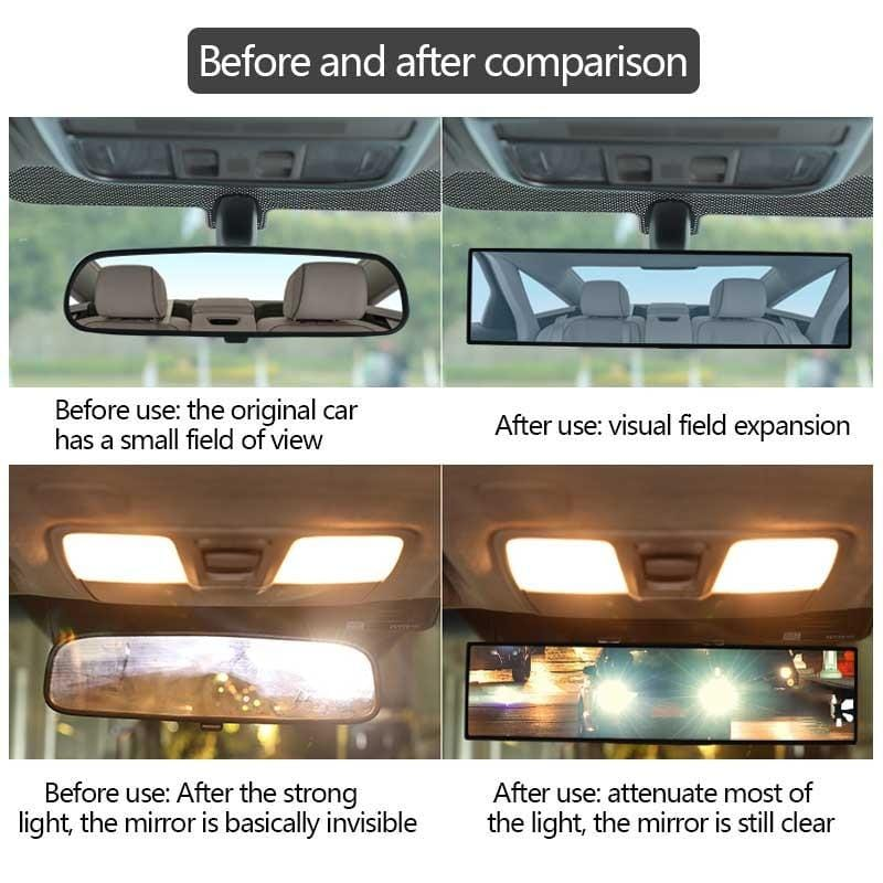 Extra Wide Mirror Extension