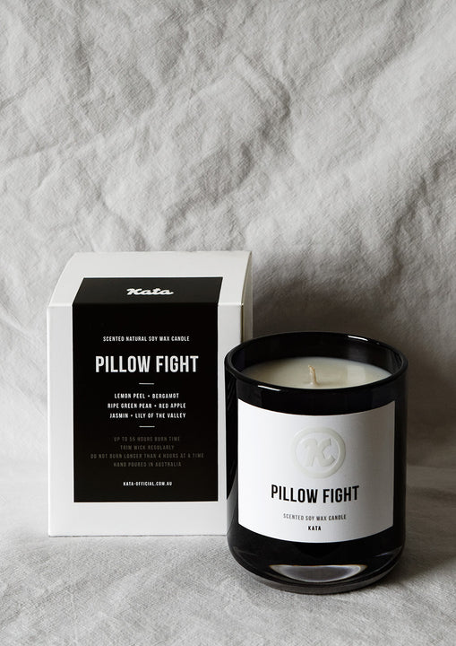 Scented Soy Candle | Pillow Fight