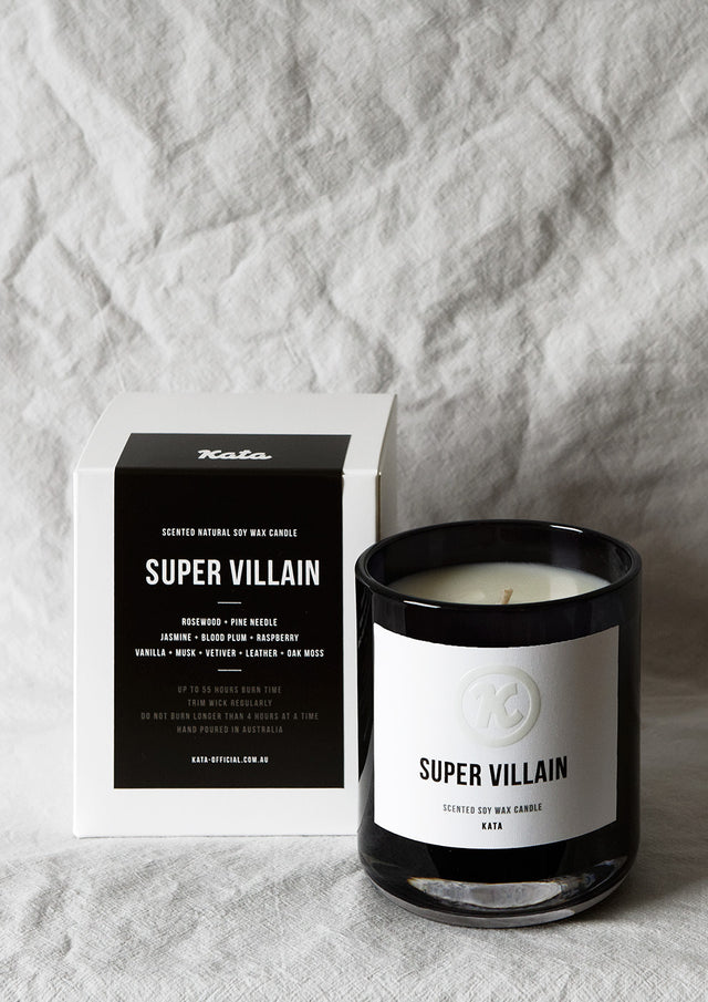 Scented Soy Candle | Super Villain