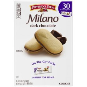 Pepperidge Farm Milano Dark Chocolate Cookies (30 pk.)