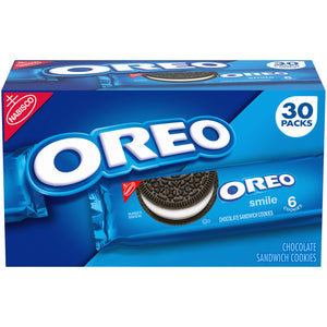 Nabisco Oreo Chocolate Sandwich Cookies (2.4 oz., 30 pk.)