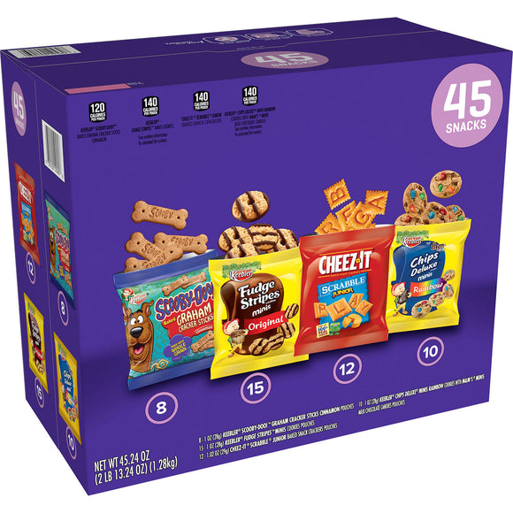 Keebler Cookies And Crackers Variety Pack (1oz / 45pk)