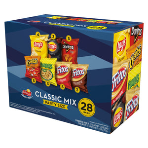 Frito-Lay Classic Mix Variety Pack, 28 Count