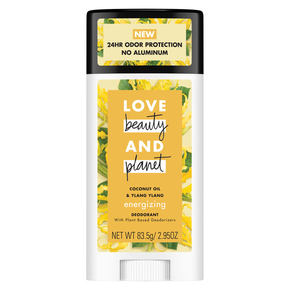 Love Beauty And Planet Coconut Oil and Ylang Ylang Deodorant, 2.95 oz