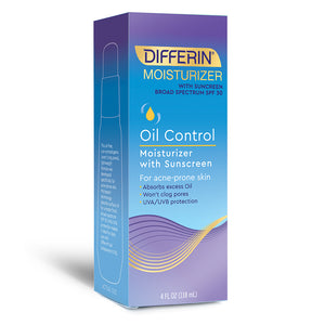 Differin Oil Control Moisturizer with Sunscreen - 4 oz/118ml
