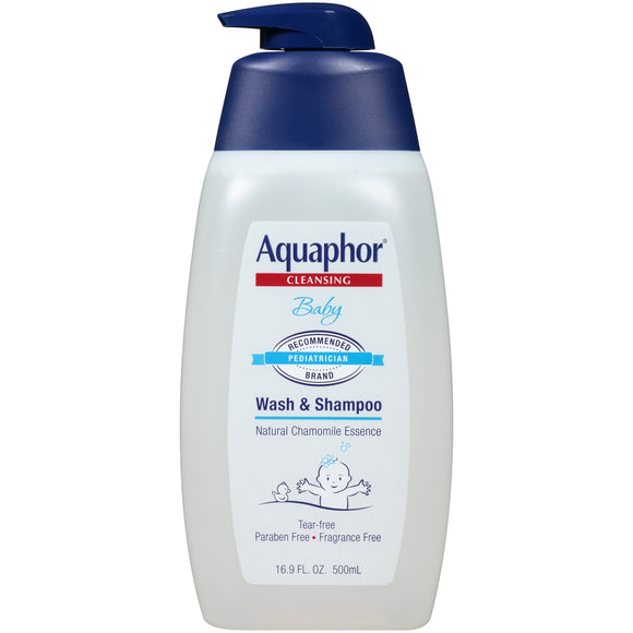 Aquaphor Baby Wash & Shampoo 16.9 fl. oz.