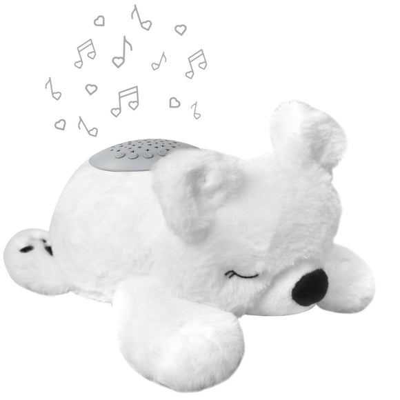 Pure Baby Sound Sleepers Sound Machine and Star Projector , Polar Bear