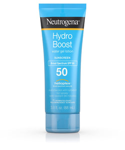 Neutrogena Hydro Boost Water Gel Lotion SPF 50, 3 oz