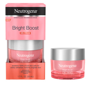 Neutrogena Bright Boost Brightening Gel Moisturizer Face Cream, 1.7 fl. oz