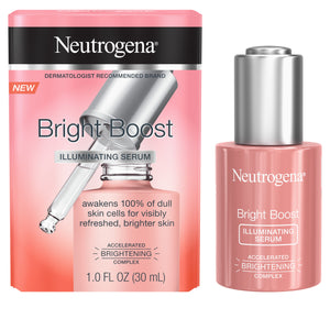 Neutrogena Bright Boost™ Illuminating Serum with Neoglucosamine® and Turmeric Extract, 1.0 fl. oz